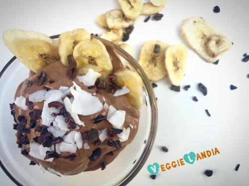 helado cacao platano